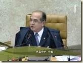 STF. Ministro Gilmar Mendes. Quórum para o Julgamento de ADPF. Maioria Absoluta.